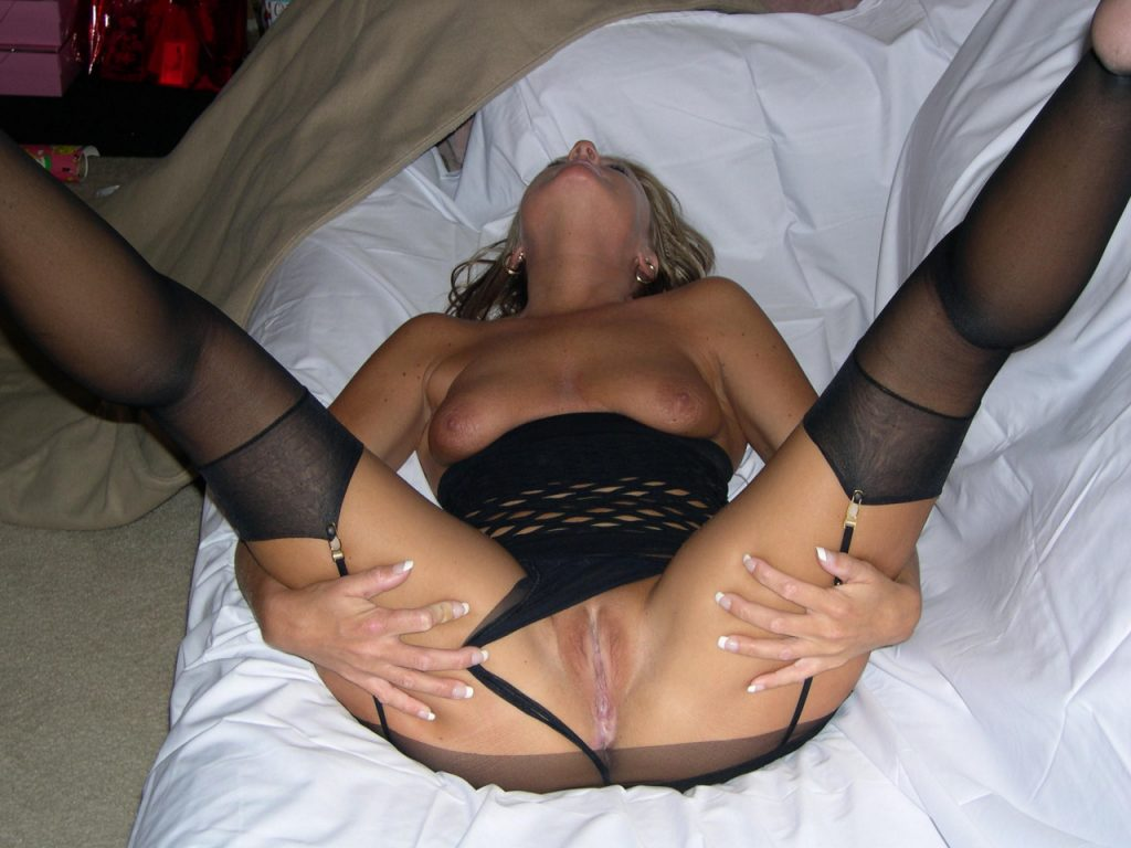 Topic Wife in stockings spread pussy version has